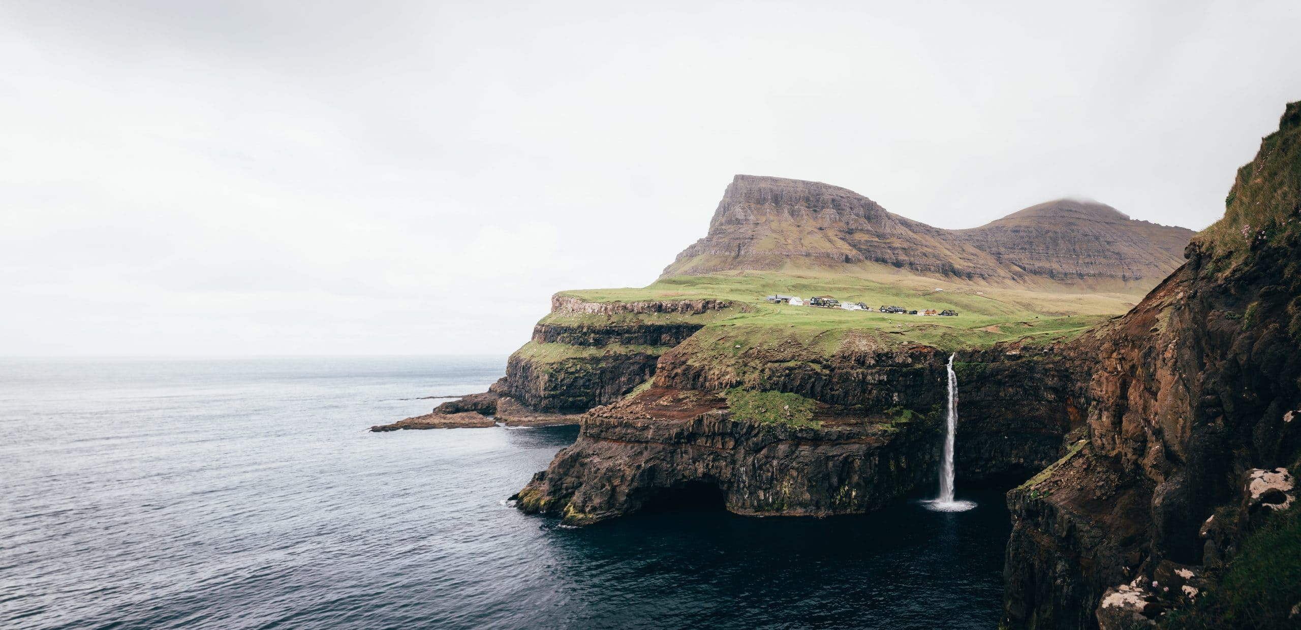 Waterfall on Faroe